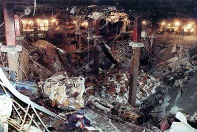 1993: al-Qaida terrorists bombed World Trade Center.