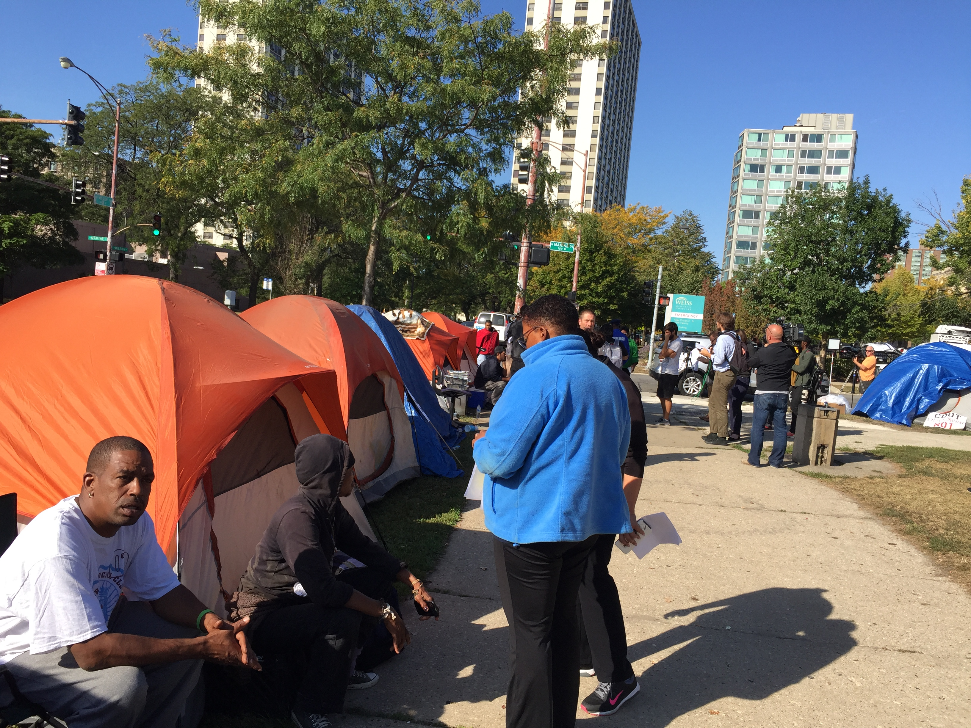 Federal lawsuit blasts Chicago's destruction of homeless tent cities