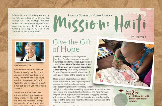 Felician Mission: Haiti 2021 Report