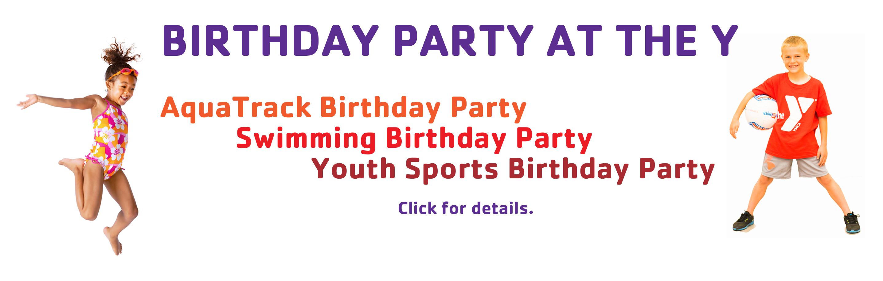 Spotlight Birthday Parties