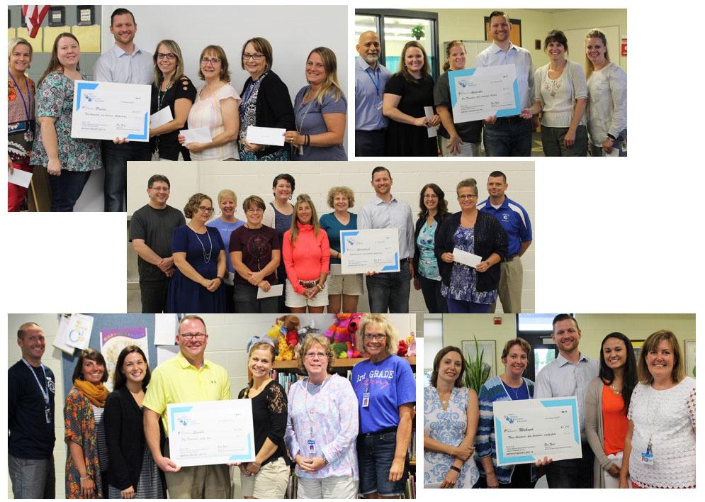 2018 Classroom Grants Awarded