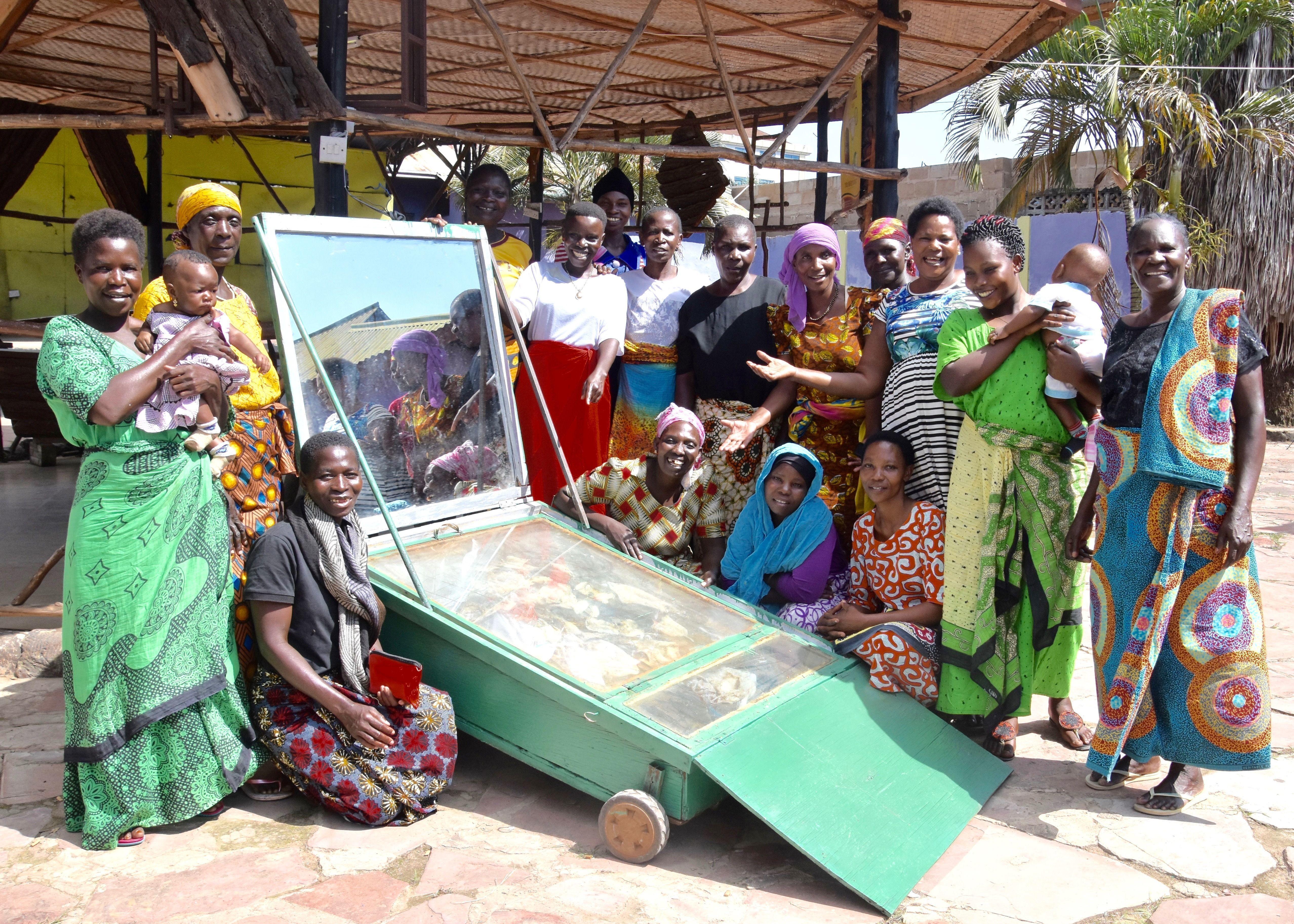 Solar Drying of Fish & Veggies