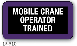 Mobile Crane Operator Trained