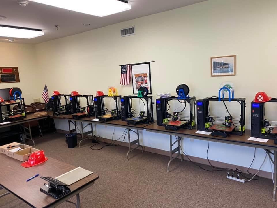 Union Fire Company's Amazing Use of the 3D Printers