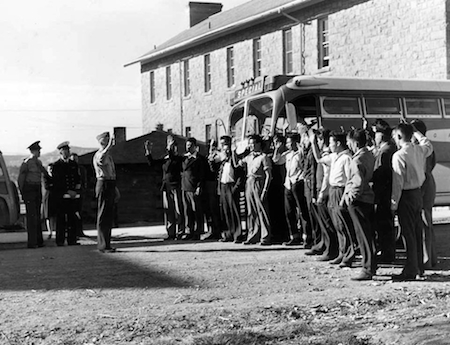 1942: 29 Navajos Reported to Fort Defiance, AZ