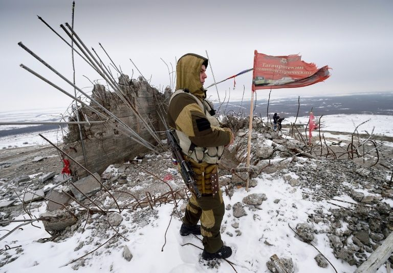 Four soldiers killed in eastern Ukraine grenade attack