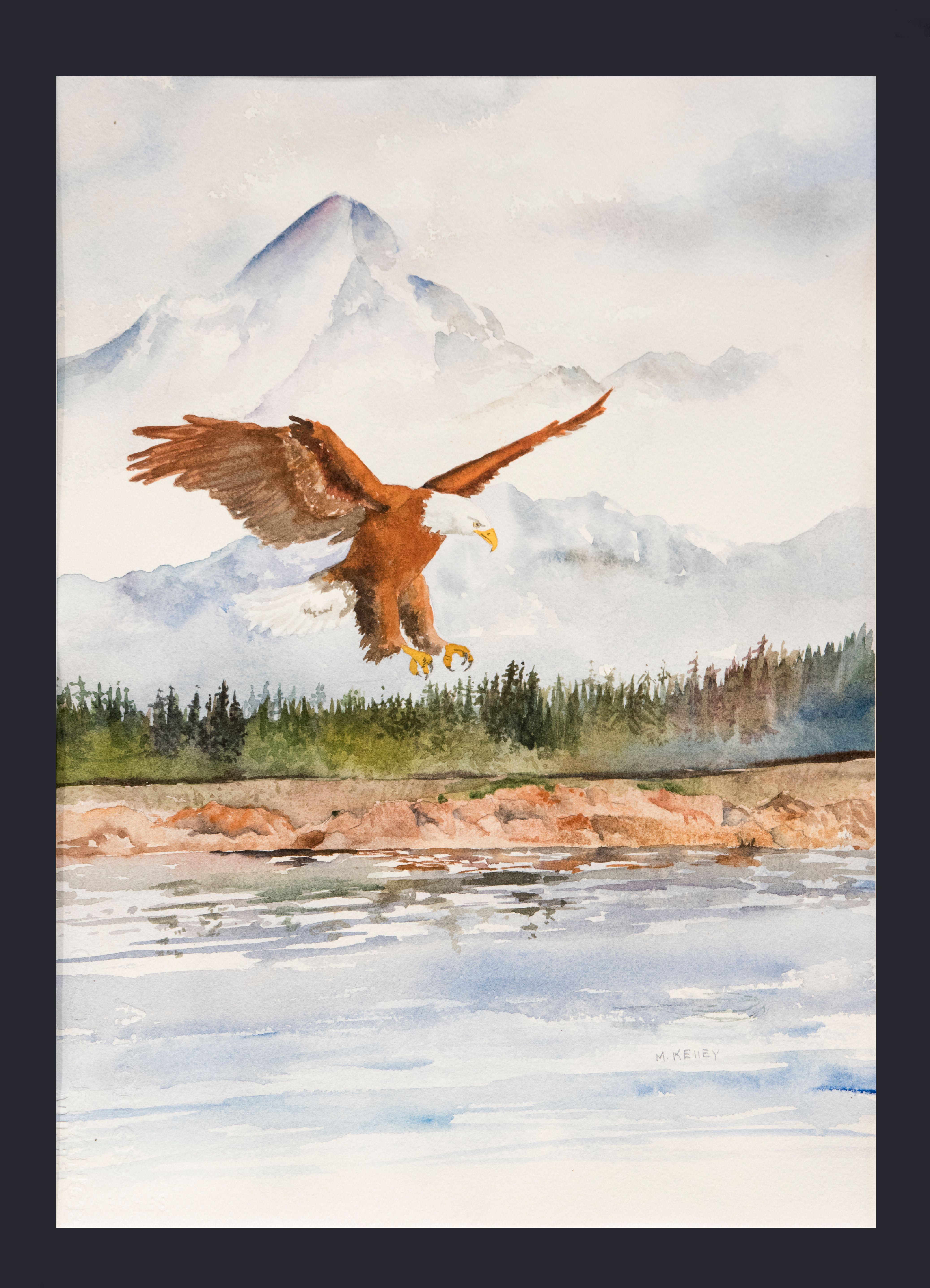 Eagle With Alaskan Splendor