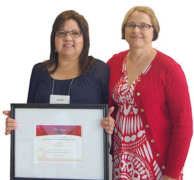 White Earth's Barb Fabre Honored for Early Childhood Contributions