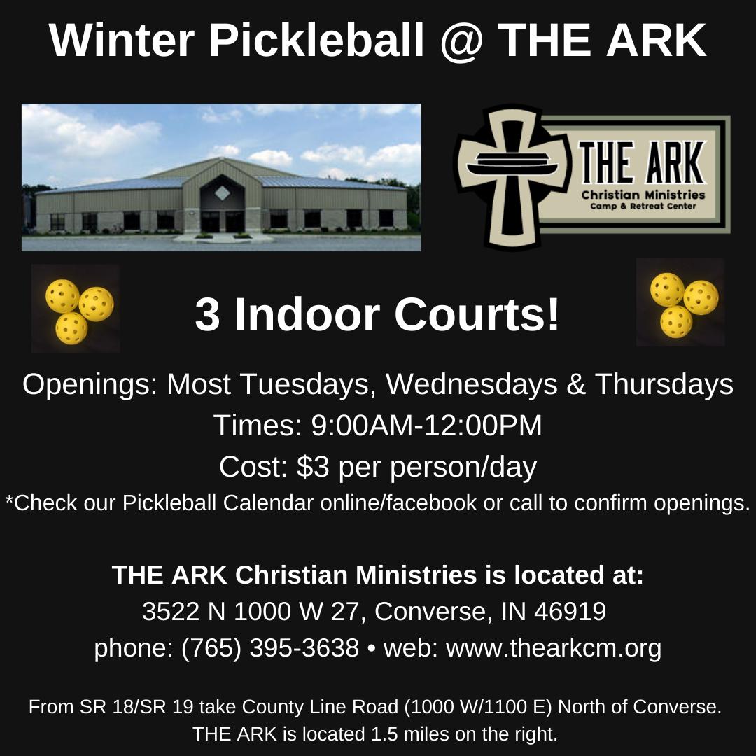 Winter Pickleball