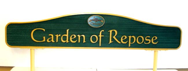 GC16925 - Cemetery Garden Identification Sign