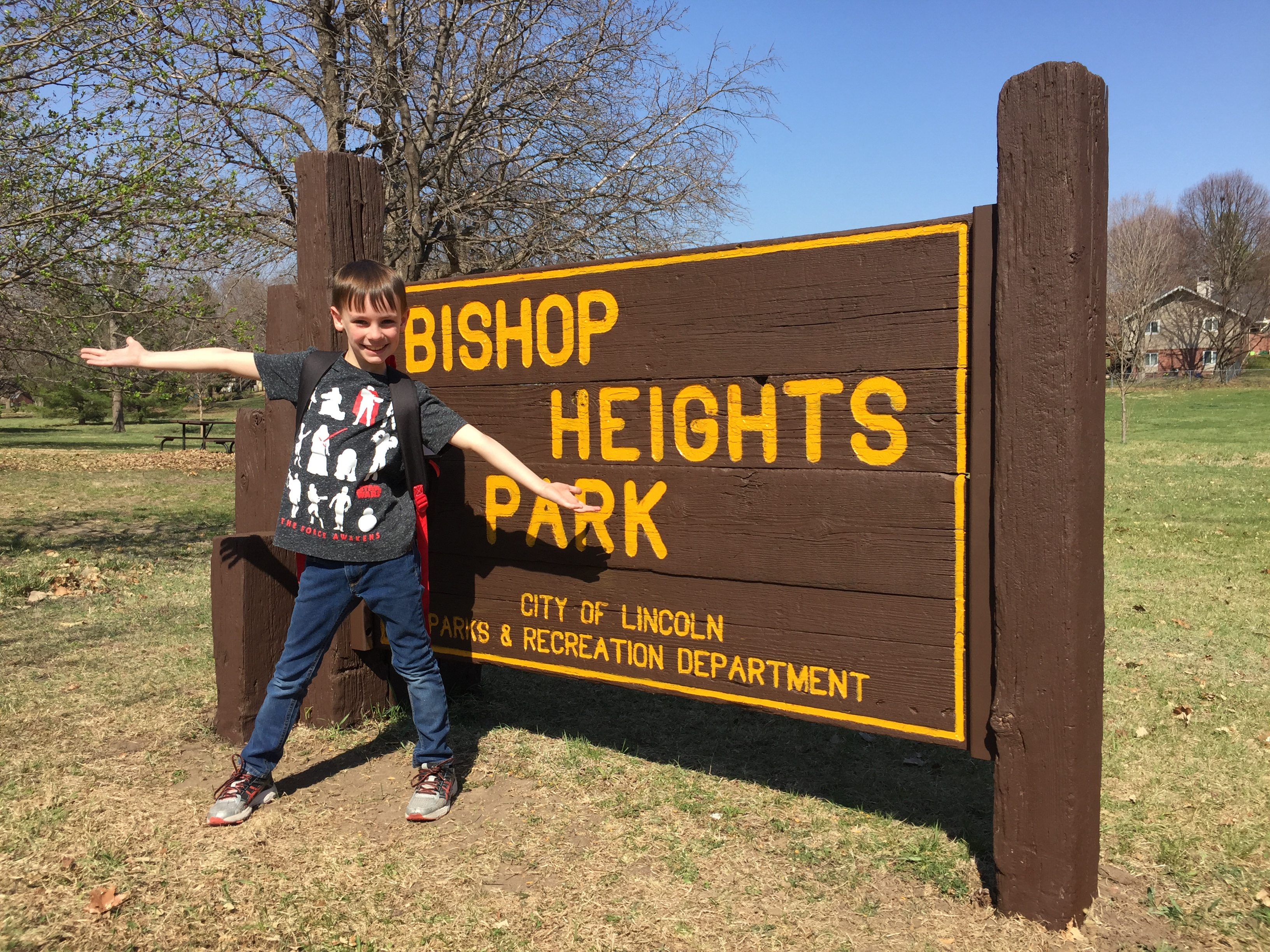 Bishop Heights seesaw for Simon