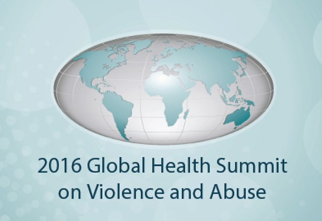 2016 Global Health Summit on Violence & Abuse Early Bird Registration EXTENDED to October 11th!