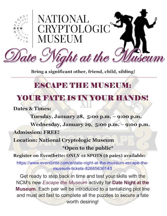 "Date Night at the NCM: ""Escape the Museum"""