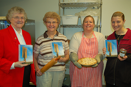 Hot off the press!  New Annunciation Monastery Cookbook