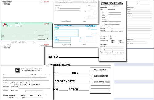 Cut Sheet Forms