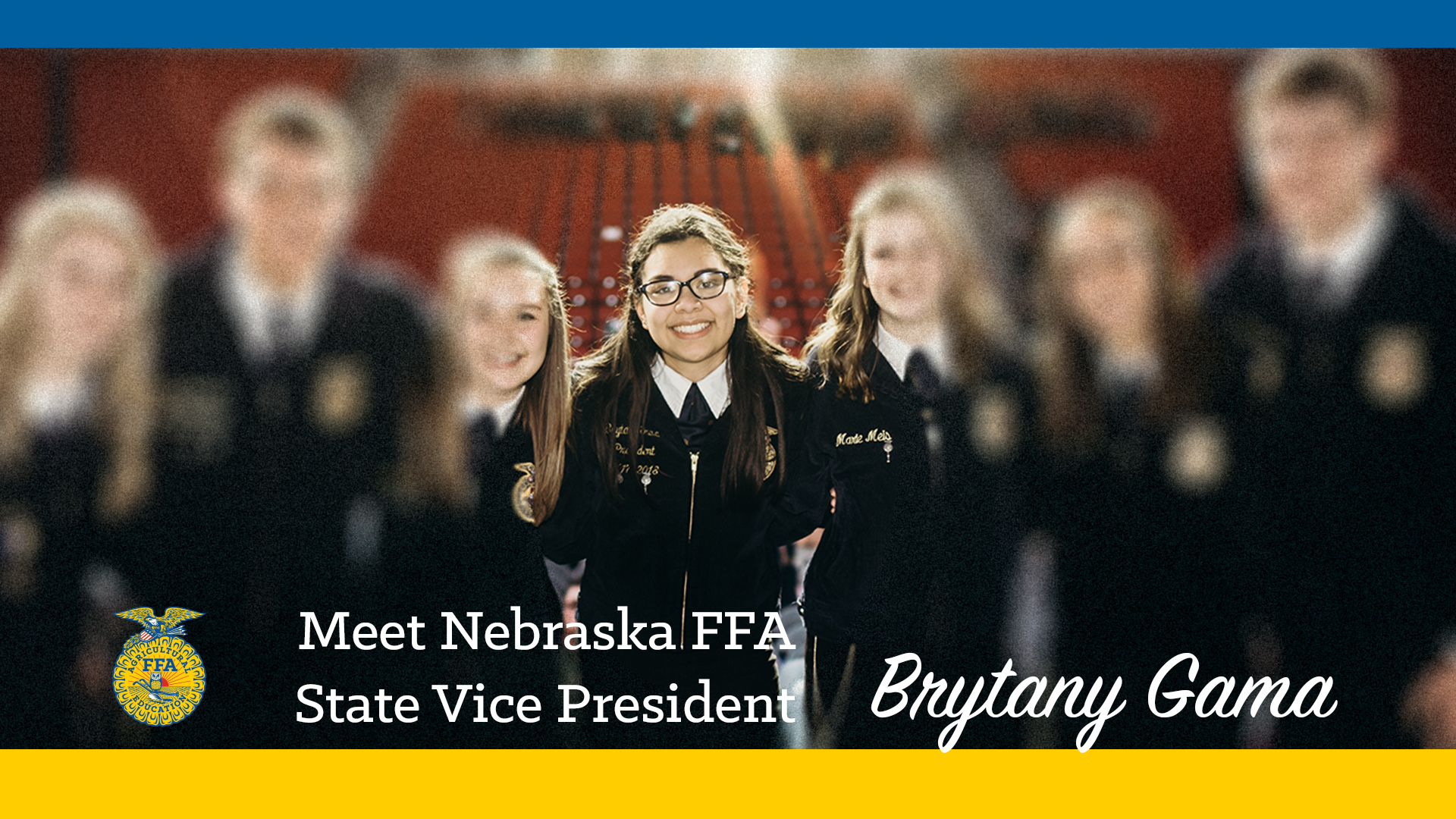 Meet Your 2018-19 Nebraska FFA State Vice President: Brytany Gama