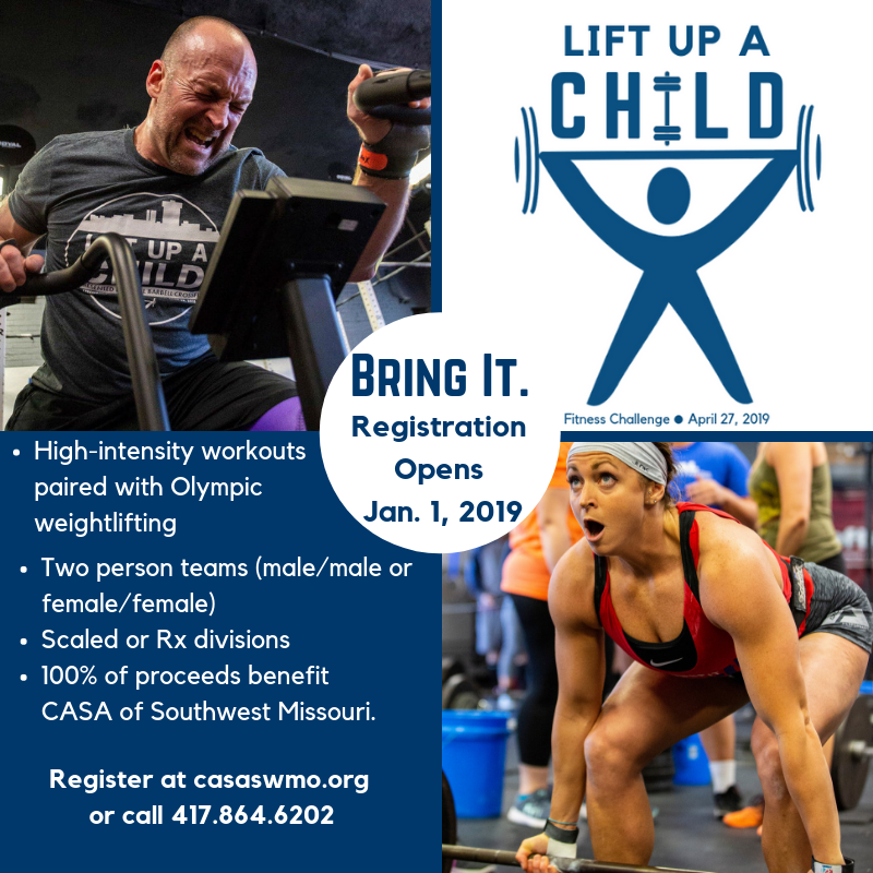 Lift Up a Child Fitness Event