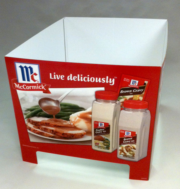 McCormick Seasonings Pallet Base Wrap