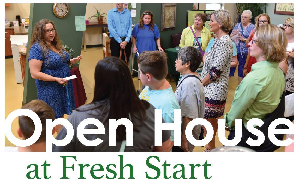 Fresh Start Fall Open House