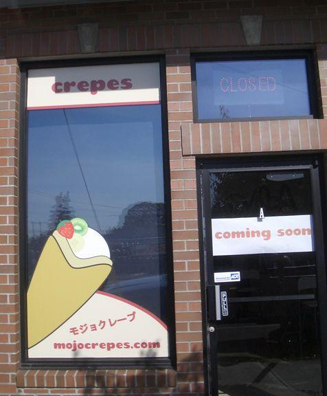 Mojo Crepes Window Graphics 2