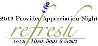 2015 Provider Appreciation Night