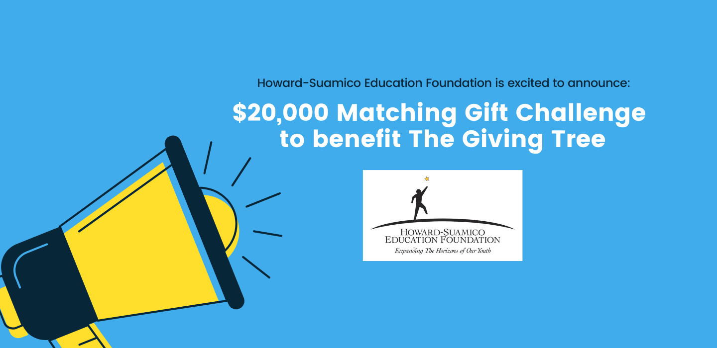 HSEF Announces Matching Gift Challenge to Benefit The Giving Tree