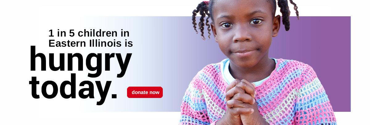 1 in 5 children - donate