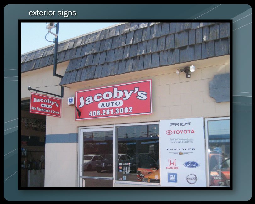 STORE FRONT SIGNS