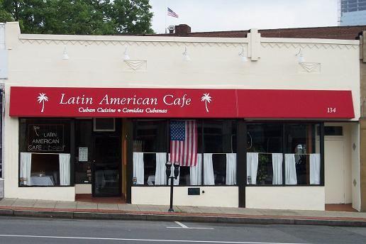 Restaurant Awning - Slant