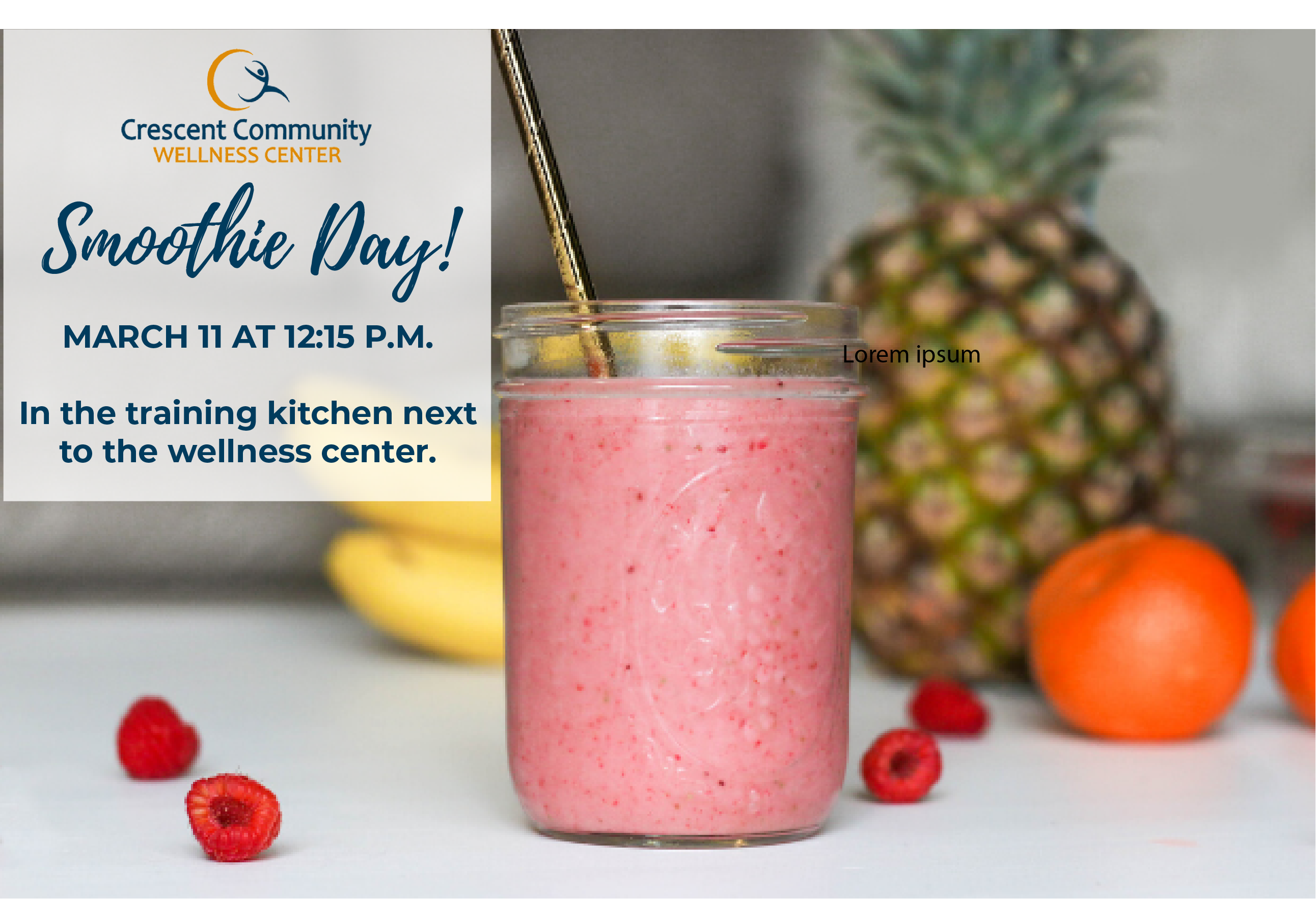 Smoothie Day!