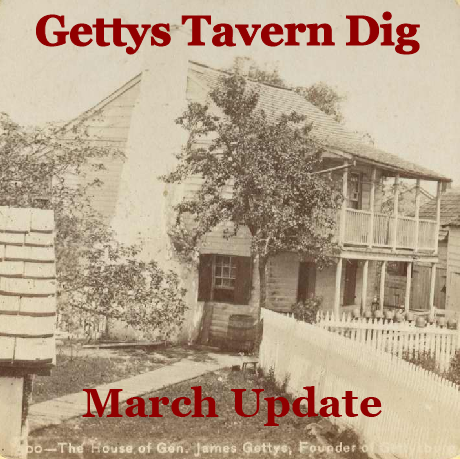 "The Gettys Tavern Dig and ""The Luck of the Irish!"""