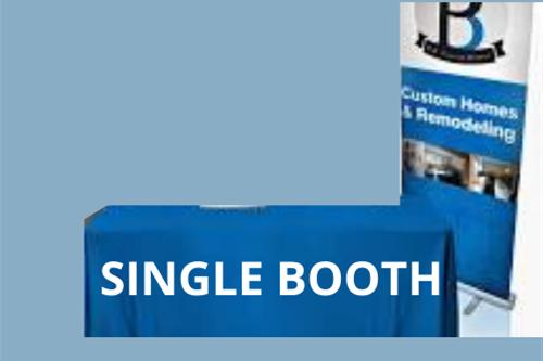 Single Booth at Cabarrus Spotlight Fair - August 10th