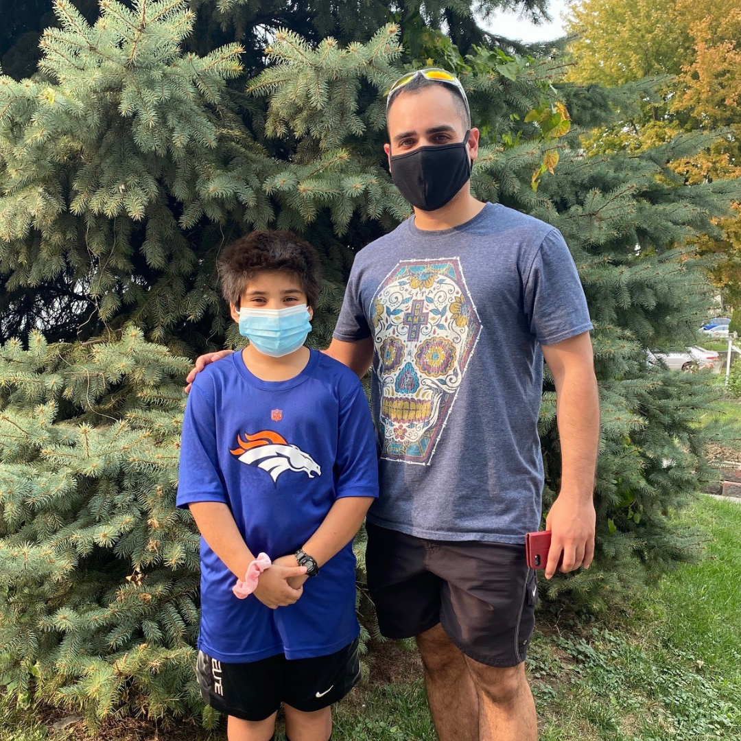Masked Big and Little