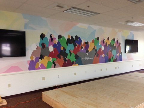 Vinyl Wall Murals for Churches in Orange County