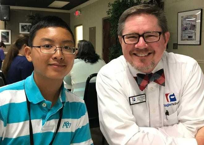 Mentor program helps FPC student achieve perfect math SAT score