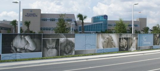 Architectural - Digital Construction Fence Banner