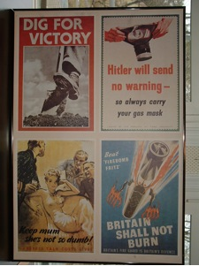 English WW II Security Morale Poster