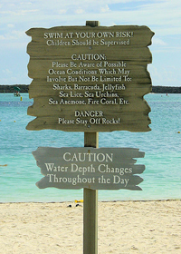 Pedestal Signs