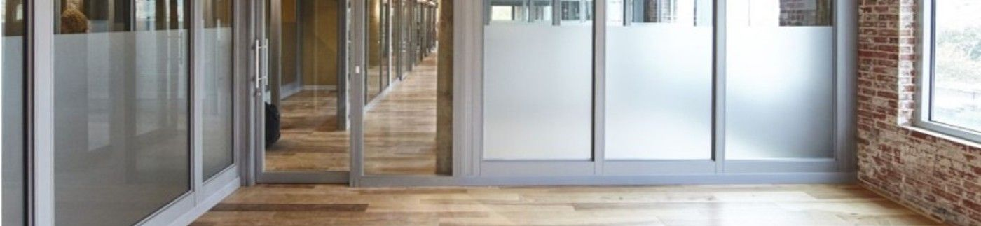 Frosted Glass Architectural Walls