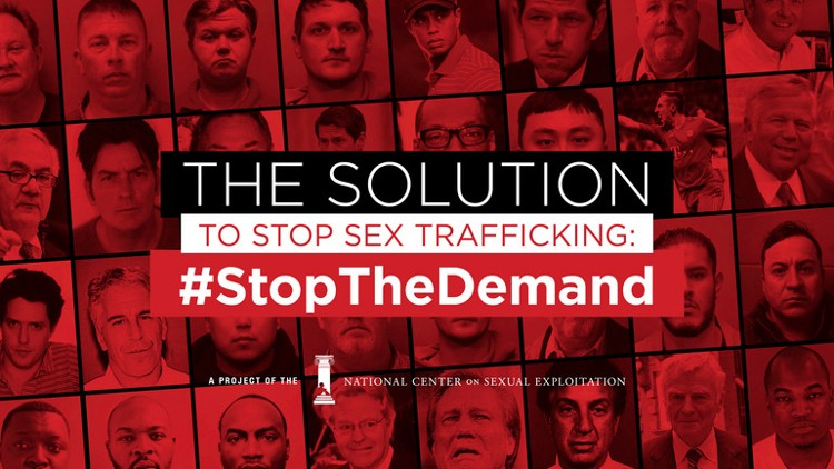 Face the Demand to End Sex Trafficking