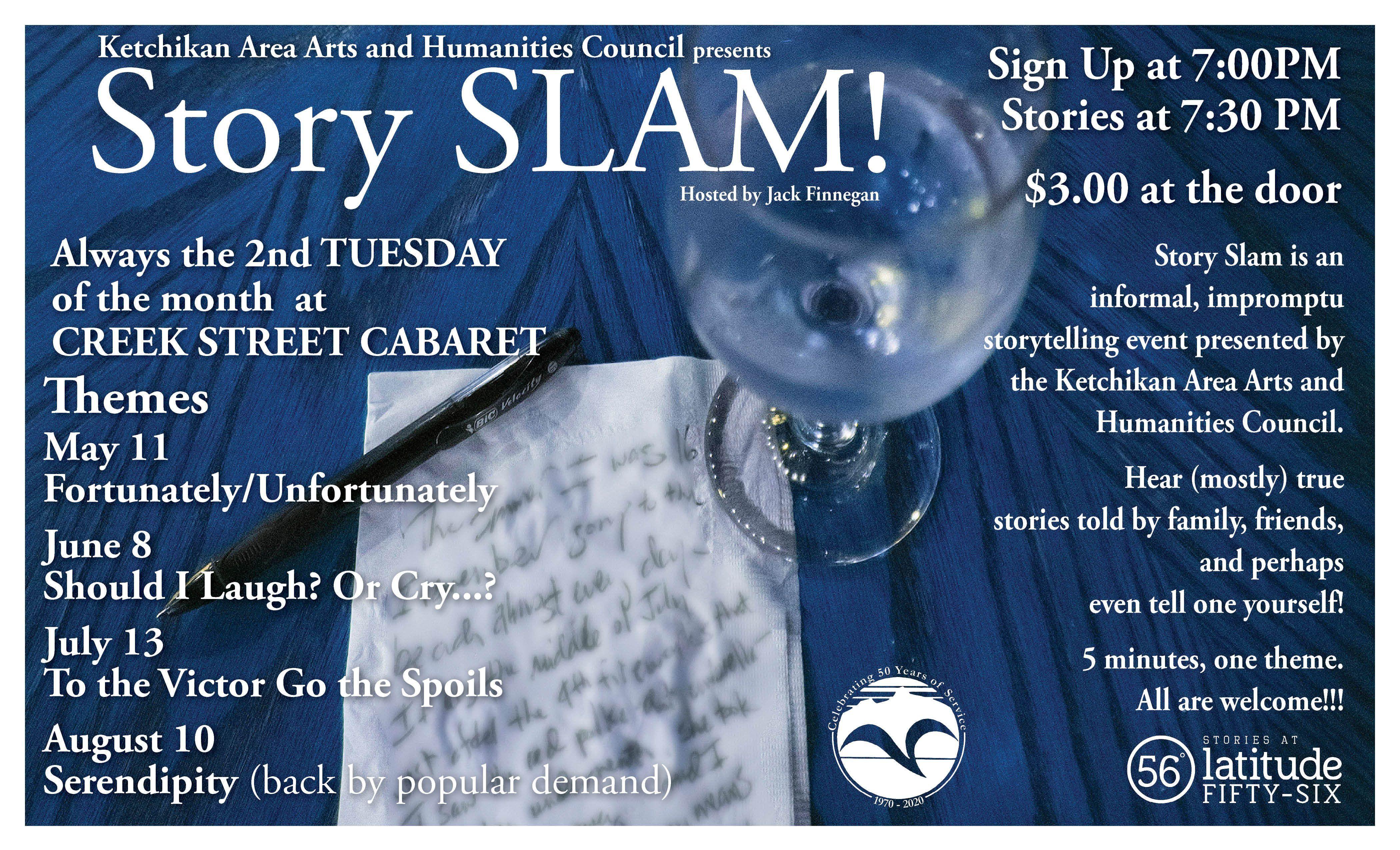 Stories at Latitude 56* - Summer SLAM!
