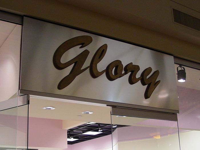 Glory Storefront Sign
