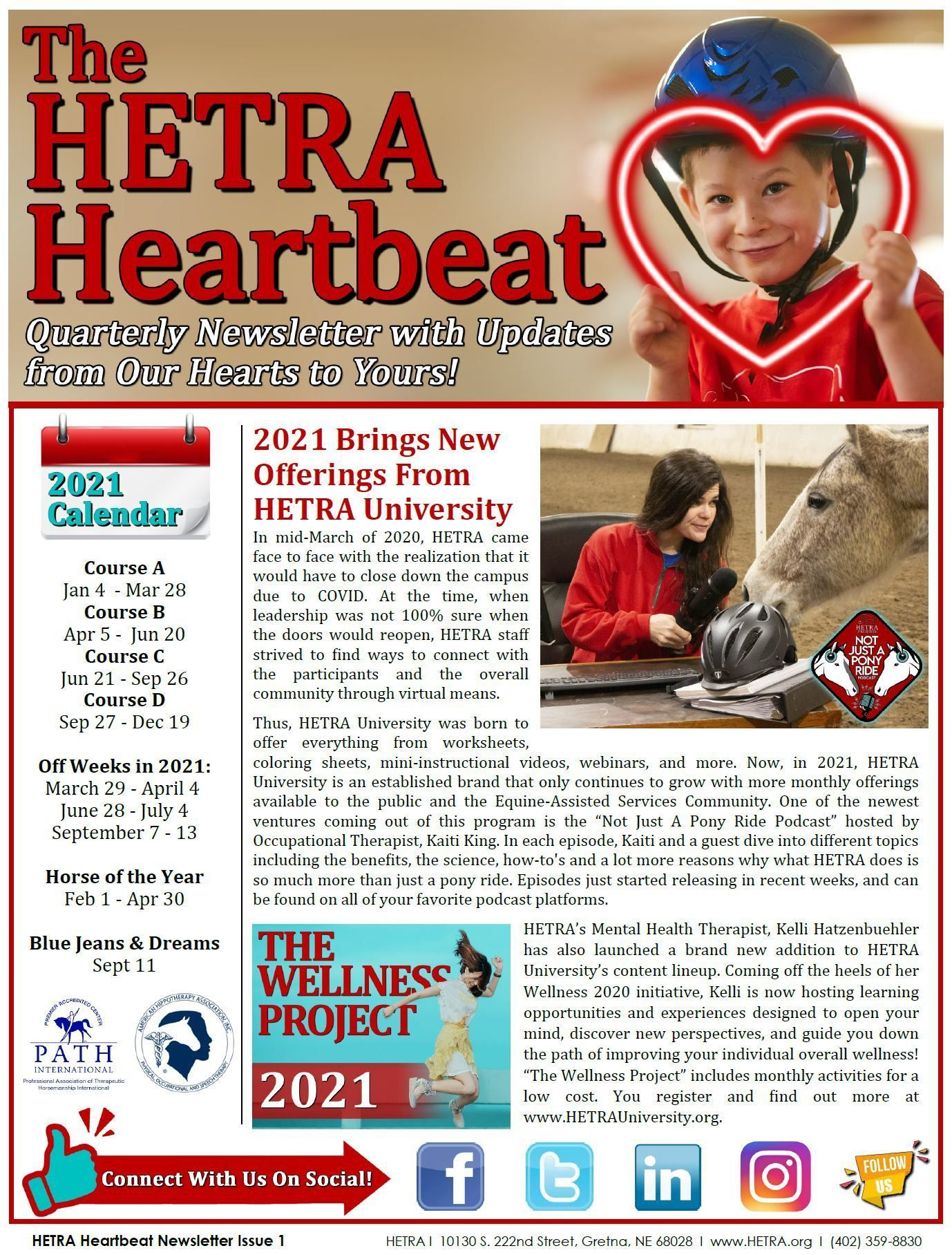 Heartbeat Issue #1 - Spring 2021