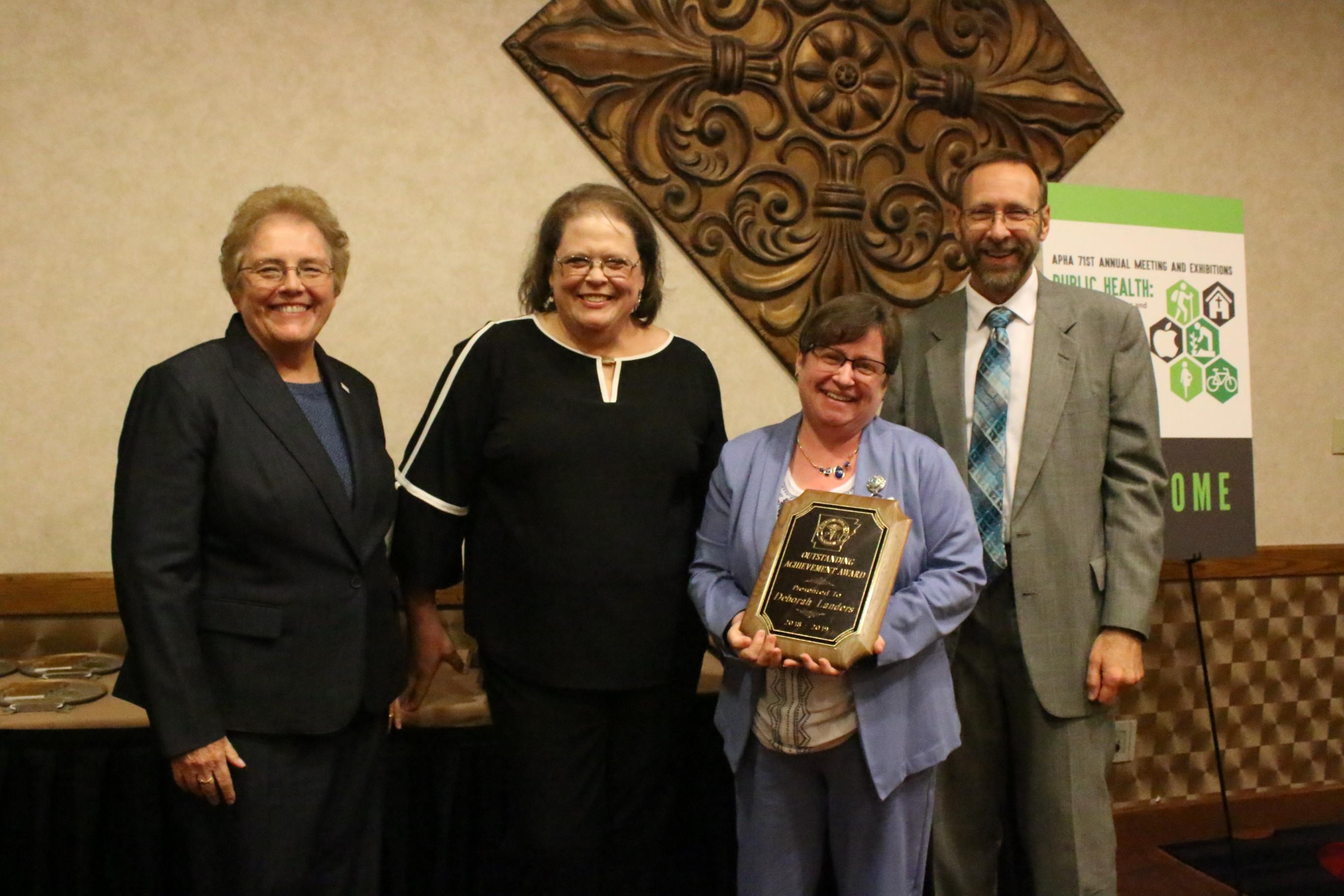 APHA Outstanding Achievement Award
