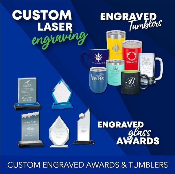 Custom Engraved Awards & Tumblers