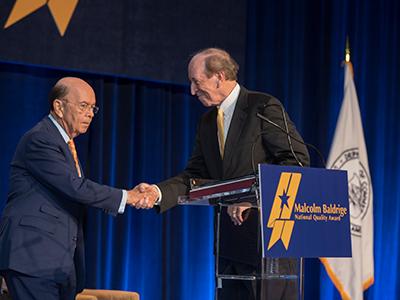 P. George Benson, Ph.D., Presented the Albert Nelson Marquis Lifetime Achievement Award