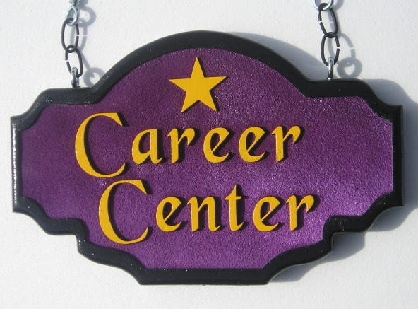 FA15670 -  Hanging Sign for Career Center