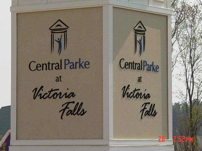 Victoria Falls Community Sign