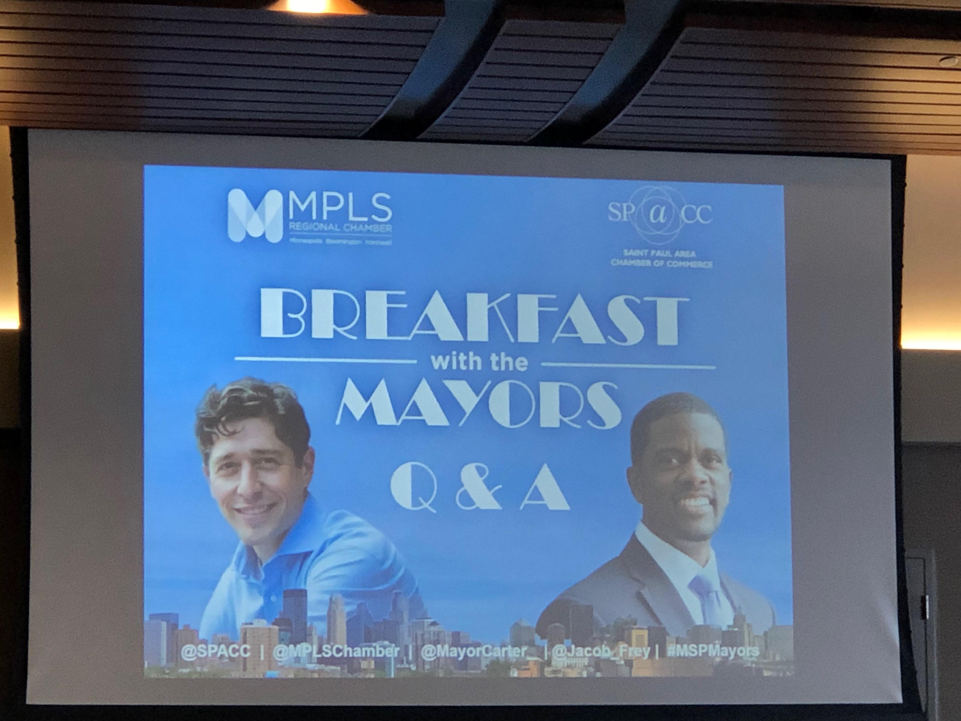 January 2019 Breakfast with the Mayors