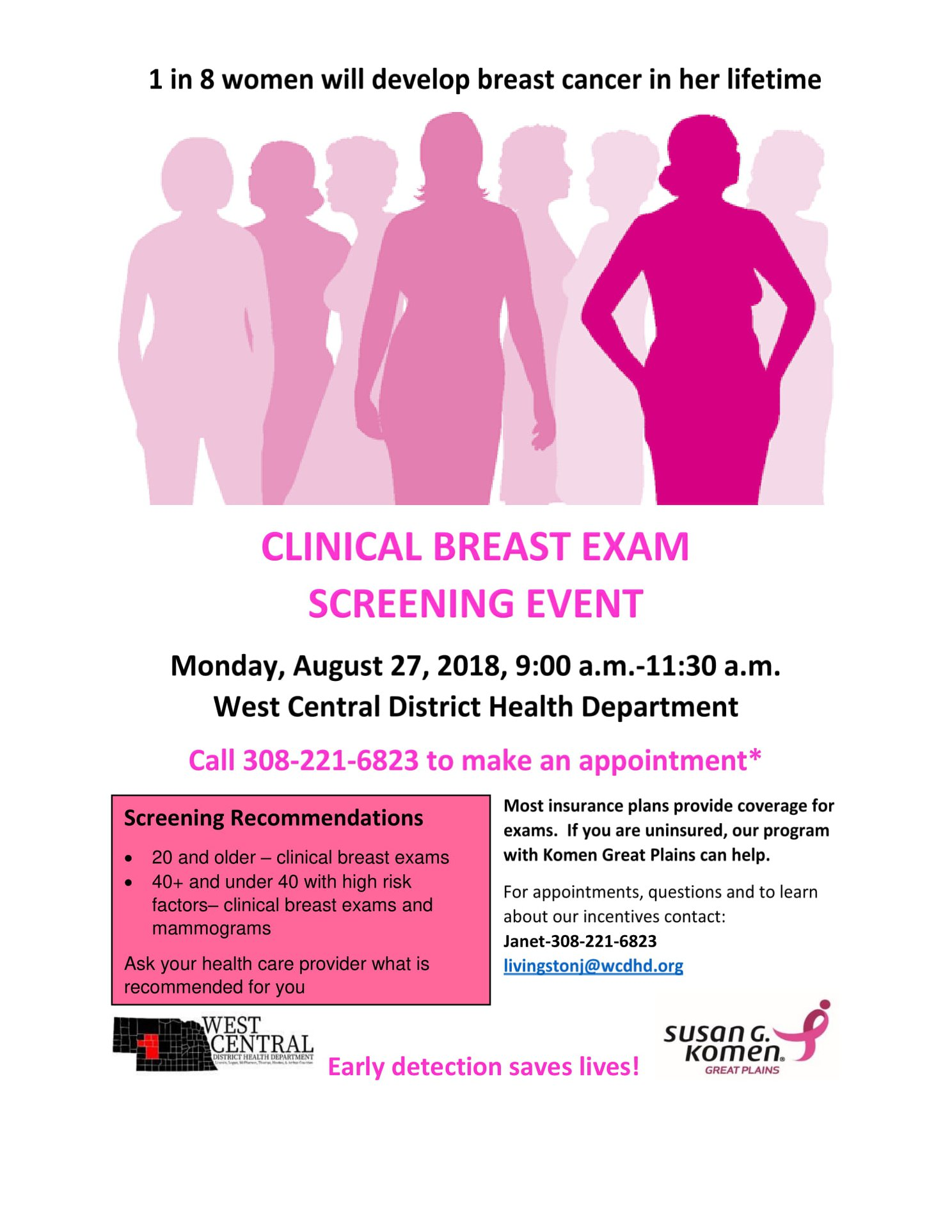Clinical Breast Exam Screening Event